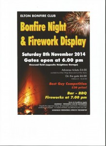 Elton Bonfire Night